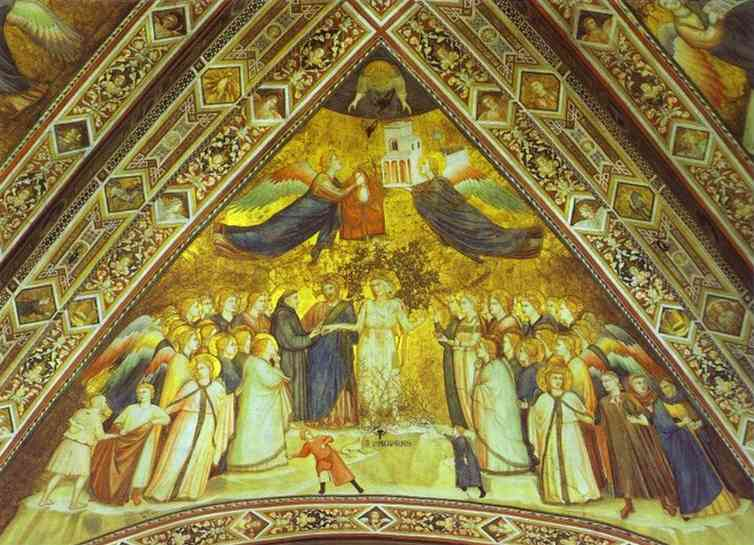 Allegory Of Poverty 1316-19 | Giotto | Oil Painting