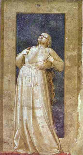 Anger 1302-1305 | Giotto | Oil Painting