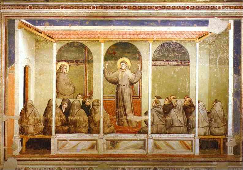 Apparition At Arles 1319-1328 | Giotto | Oil Painting
