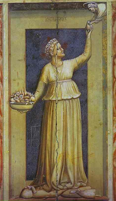 Charity 1302-1305 | Giotto | Oil Painting