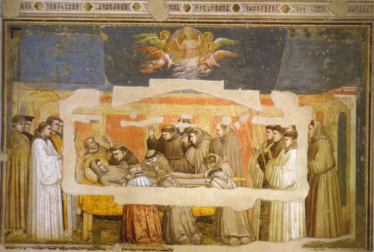 Death Of St Francis 1320s | Giotto | Oil Painting