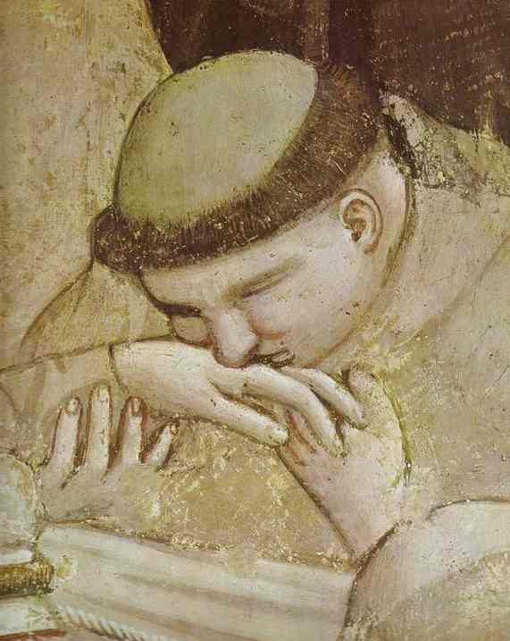 Death Of St Francis And Inspection Of Stigmata Detail 1 1320s | Giotto | Oil Painting