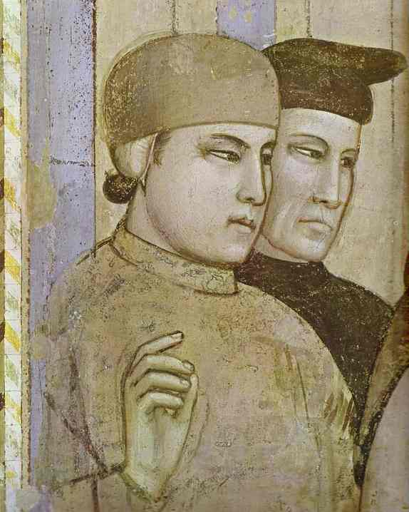 Death Of St Francis And Inspection Of Stigmata Detail 2 1320s | Giotto | Oil Painting