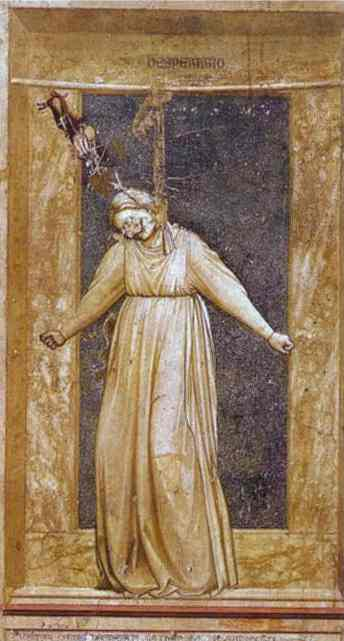 Despair 1302-1305 | Giotto | Oil Painting