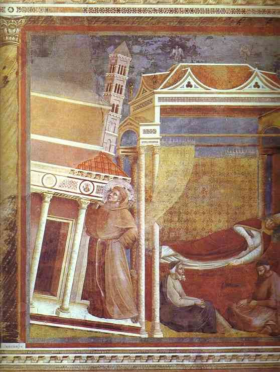 Dream Of Innocent Iii 1300 | Giotto | Oil Painting
