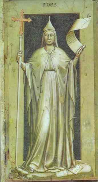 Faith 1302-1305 | Giotto | Oil Painting