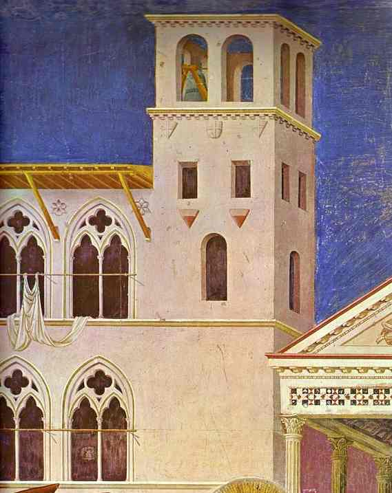 Homage Of A Simple Man Detail 1 1295-1300 | Giotto | Oil Painting