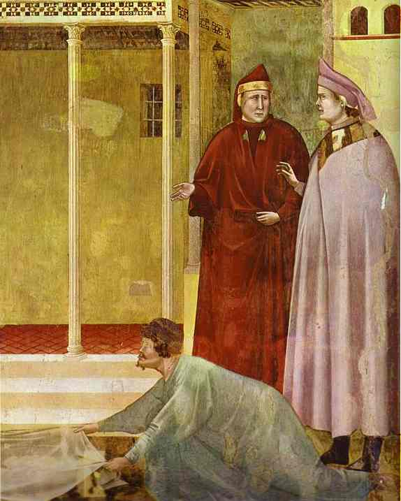 Homage Of A Simple Man Detail 2 1295-1300 | Giotto | Oil Painting