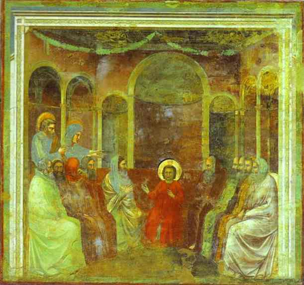 Jesus Among The Doctors 1304-1306 | Giotto | Oil Painting