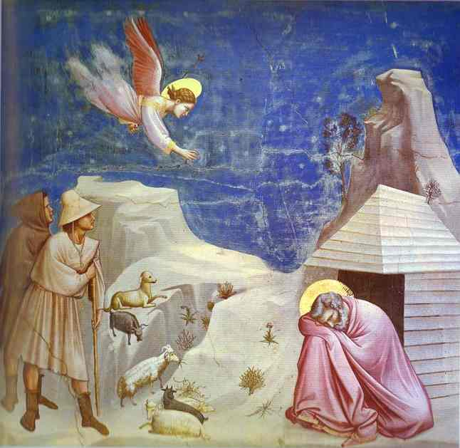 Joachims Dream 1304-1306 | Giotto | Oil Painting
