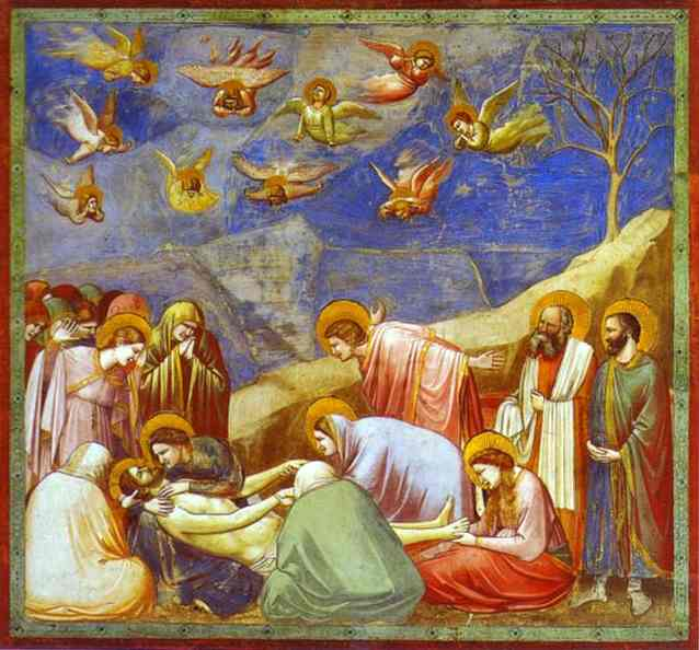 Lamentation 1304-1306 | Giotto | Oil Painting