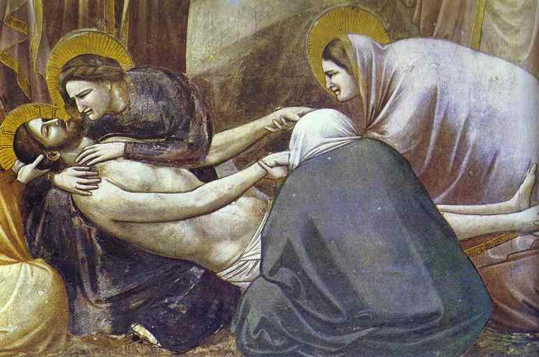Lamentation Detail 1304-1306 | Giotto | Oil Painting