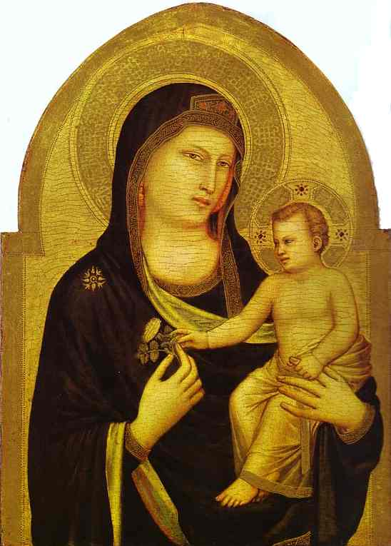 Madonna And Child 1320-1330 | Giotto | Oil Painting
