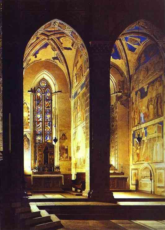 Peruzzi And Bardi Chapels | Giotto | Oil Painting