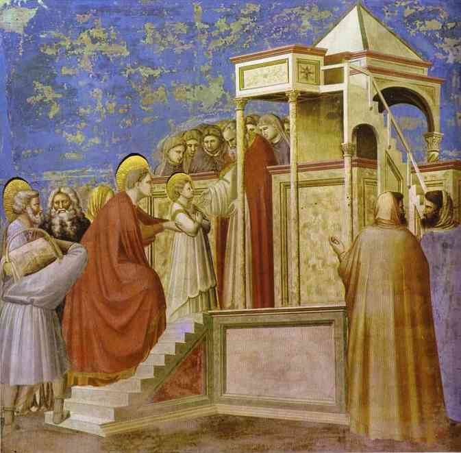 Presentation At The Temple 1304-1306 | Giotto | Oil Painting