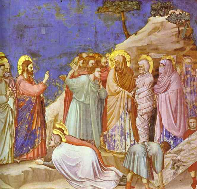 Raising Of Lasarus 1304-1306 | Giotto | Oil Painting