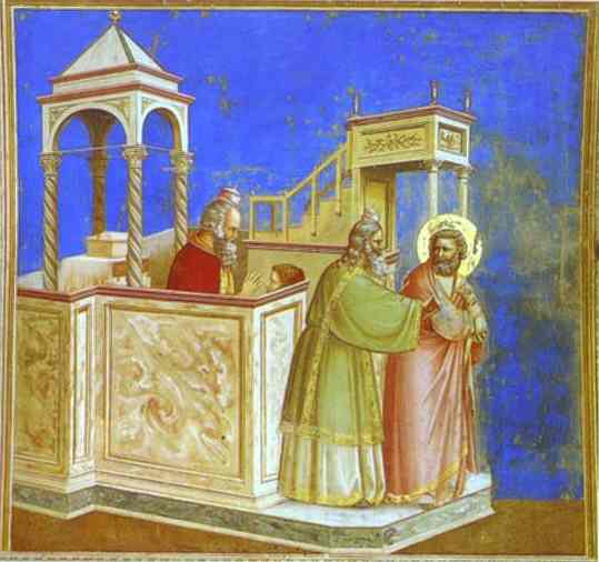Rejection Of Joachims Sacrifice 1302-1305 | Giotto | Oil Painting