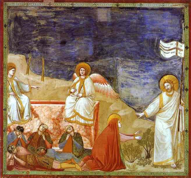 Ressurection (Noli Me Tangere) 1304-1306 | Giotto | Oil Painting