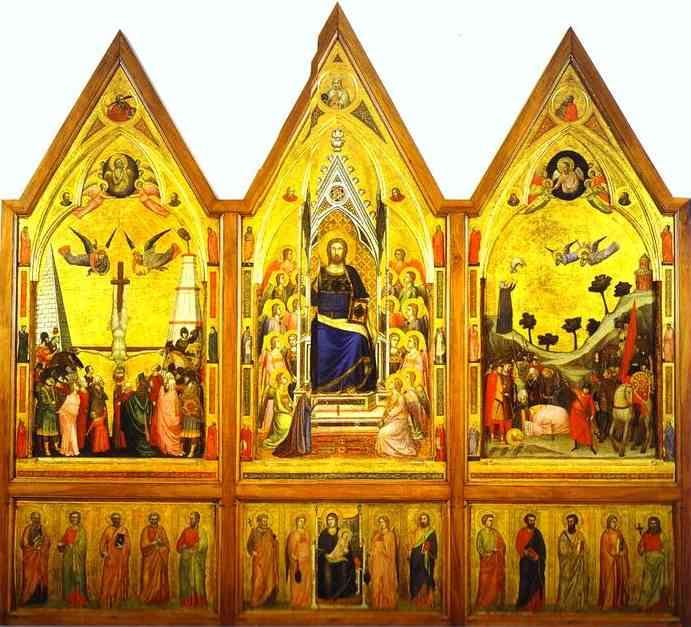 Stefaneschi 2 1330 | Giotto | Oil Painting