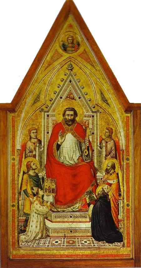 Stefaneschi St Peter 2 1330 | Giotto | Oil Painting