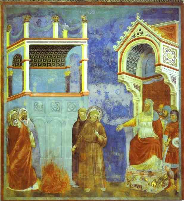 St Francis Before Sultan 1300 | Giotto | Oil Painting