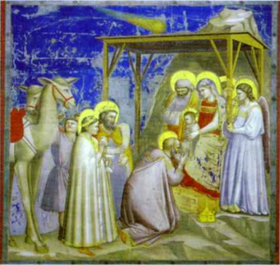 The Adoration Of The Magi 1304-1306 | Giotto | Oil Painting