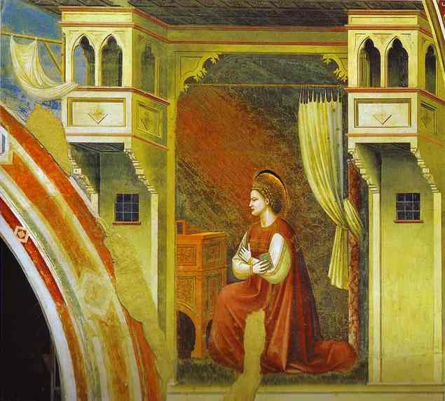 The Angel Of Annunciation 2 1302-1305 | Giotto | Oil Painting