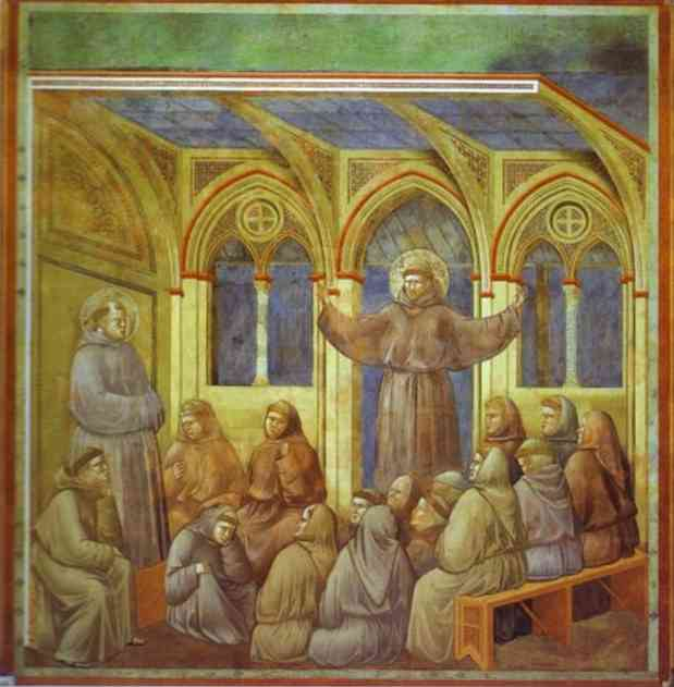 The Apparition At Arles 1300 | Giotto | Oil Painting