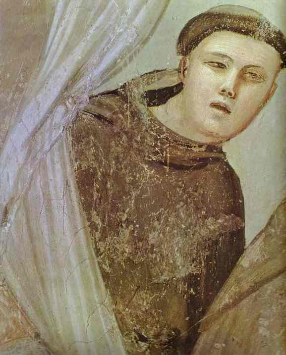 The Apparition To Brother Augustin And The Bishop Detail 1320s | Giotto | Oil Painting