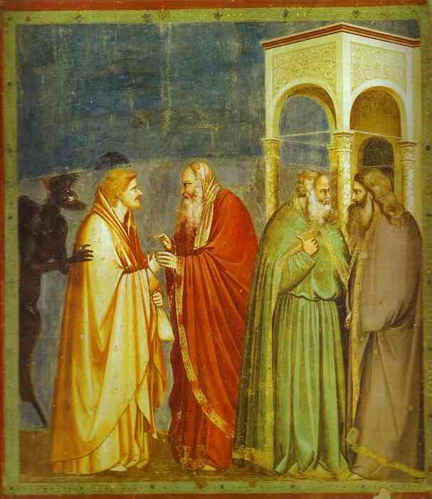 The Betrayal Of Judas 1304-1306 | Giotto | Oil Painting