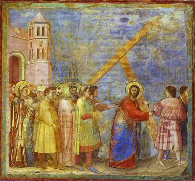 The Carrying Of The Cross 1304-1306 | Giotto | Oil Painting