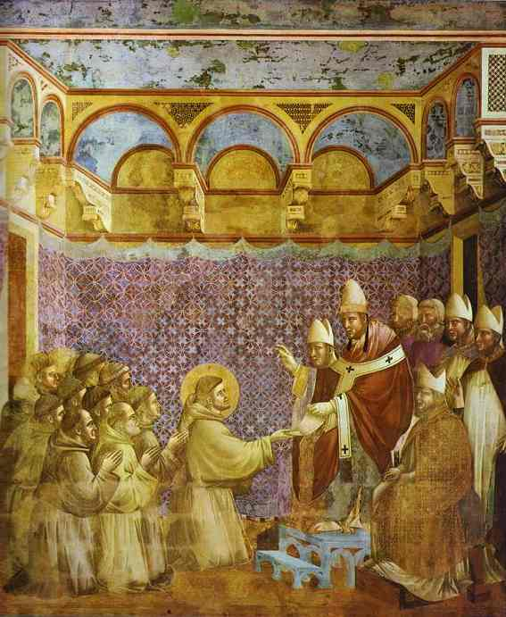 The Confirmation Of The Rule 1295-1300 | Giotto | Oil Painting