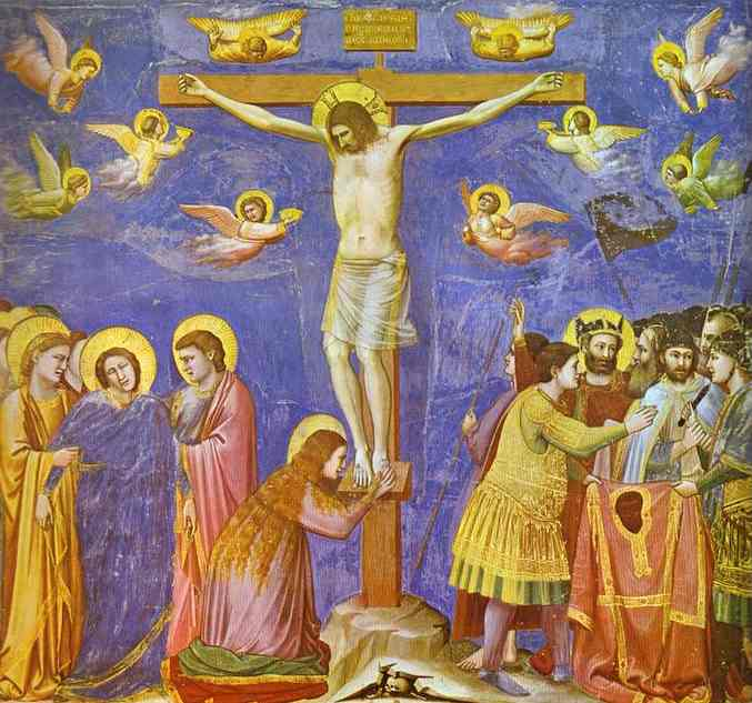 The Crucifixion 1304-1306 | Giotto | Oil Painting