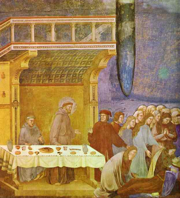 The Death Of Knight Of Celano 1295-1300 | Giotto | Oil Painting