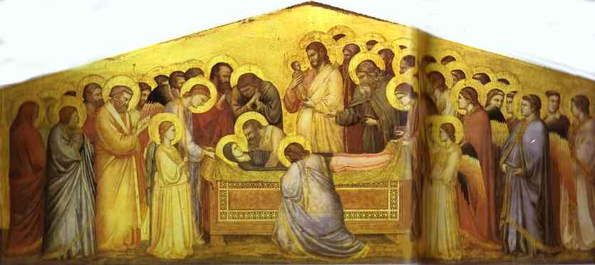 The Death Of The Virgin 1310 | Giotto | Oil Painting