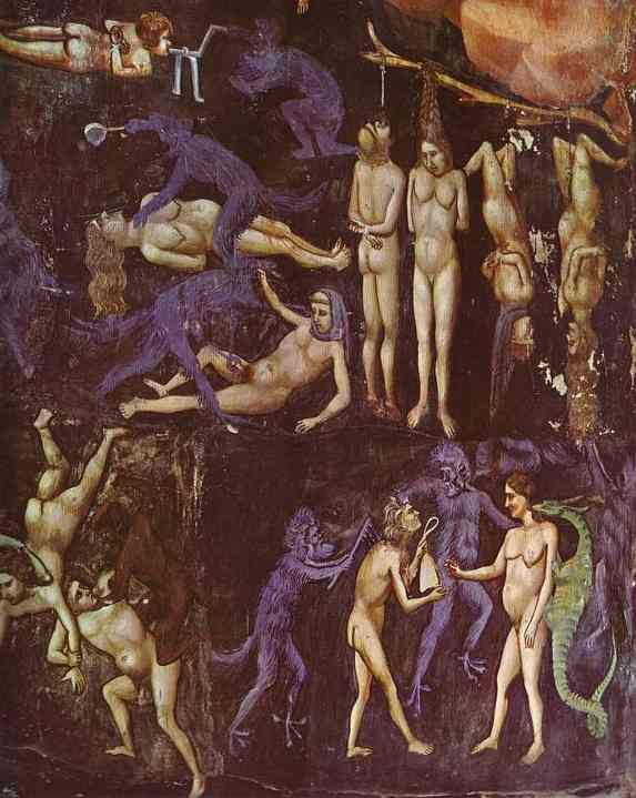 The Last Judgement Detail 2 1304-1306 | Giotto | Oil Painting