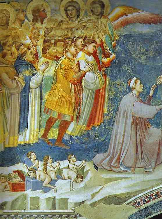 The Last Judgement Detail 5 1304-1306 | Giotto | Oil Painting