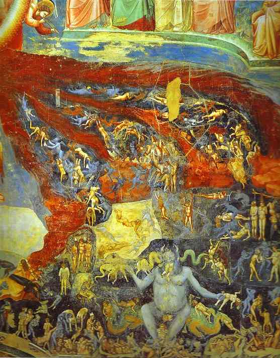 The Last Judgement Detail 6 1304-1306 | Giotto | Oil Painting