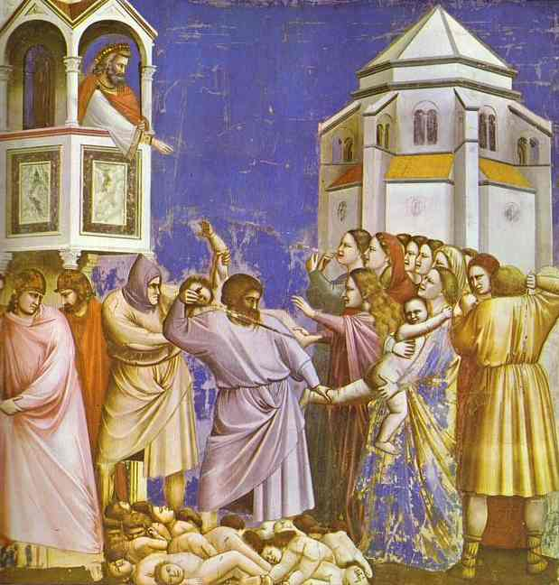 The Massacre Of The Innocents 1304-1306 | Giotto | Oil Painting