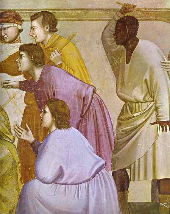 The Mocking Of Christ And Flagellation Detail 1304-1306 | Giotto | Oil Painting