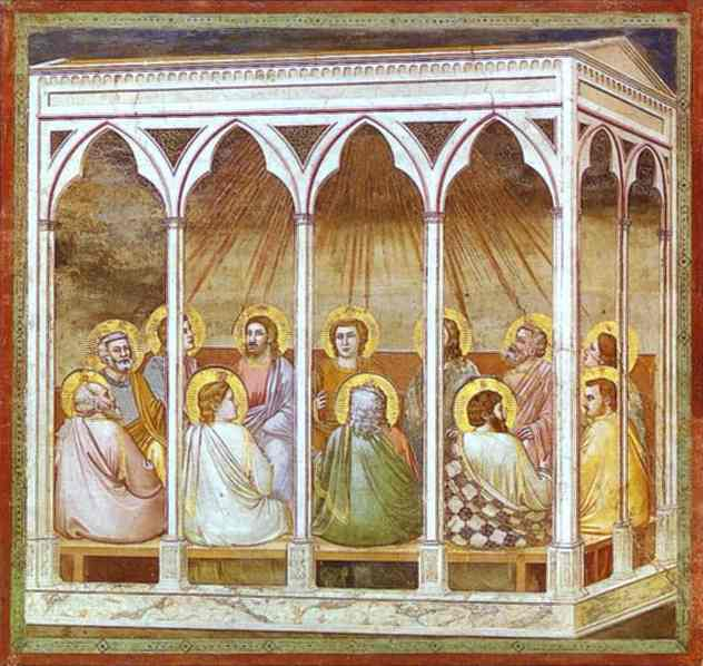The Pentecost 1304-1306 | Giotto | Oil Painting