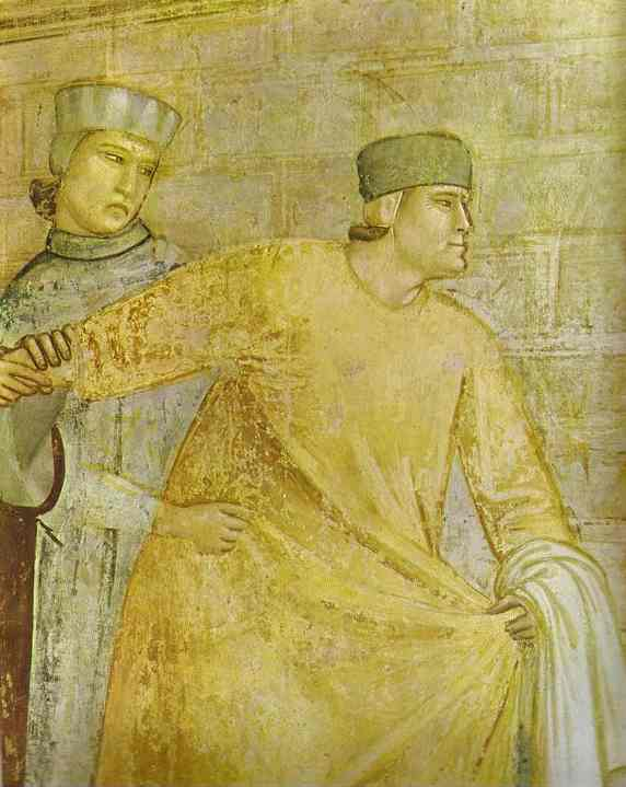 The Renunciation Of Worldly Goods Detail 1 1320s | Giotto | Oil Painting