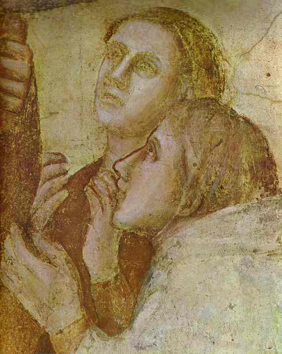 The Resurrection Of Drusiane Detail 2 1320s | Giotto | Oil Painting