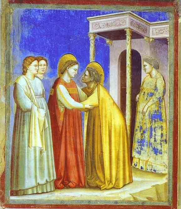 The Visitation 1302-1305 | Giotto | Oil Painting