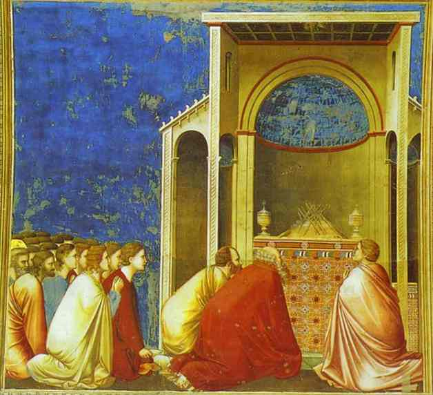 The Wooers Praying 1302-1305 | Giotto | Oil Painting