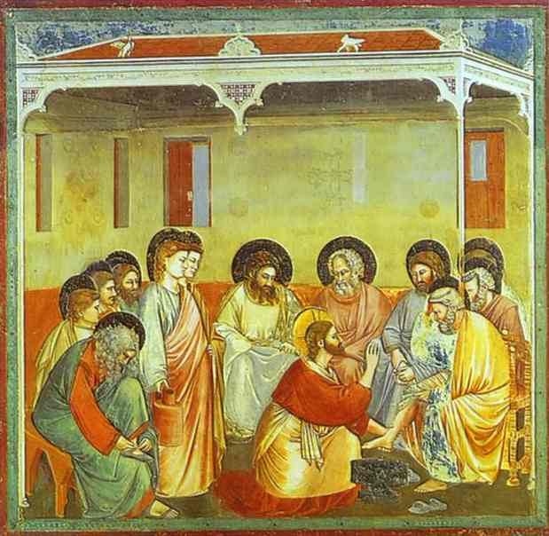 Washing Of The Feet 1304-1306 | Giotto | Oil Painting