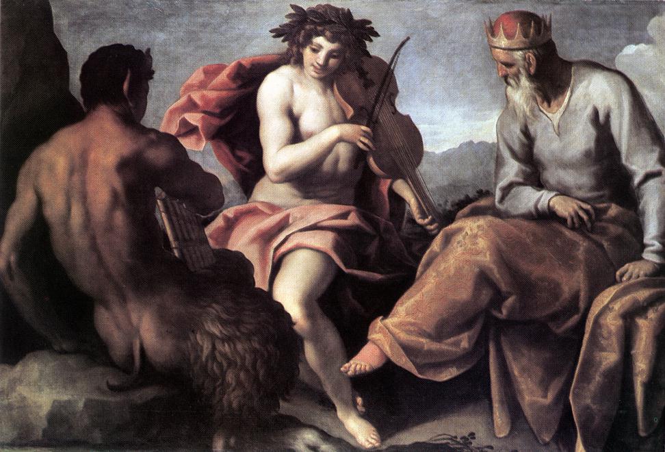Apollo and Marsyas I | Giovane Palma | Oil Painting