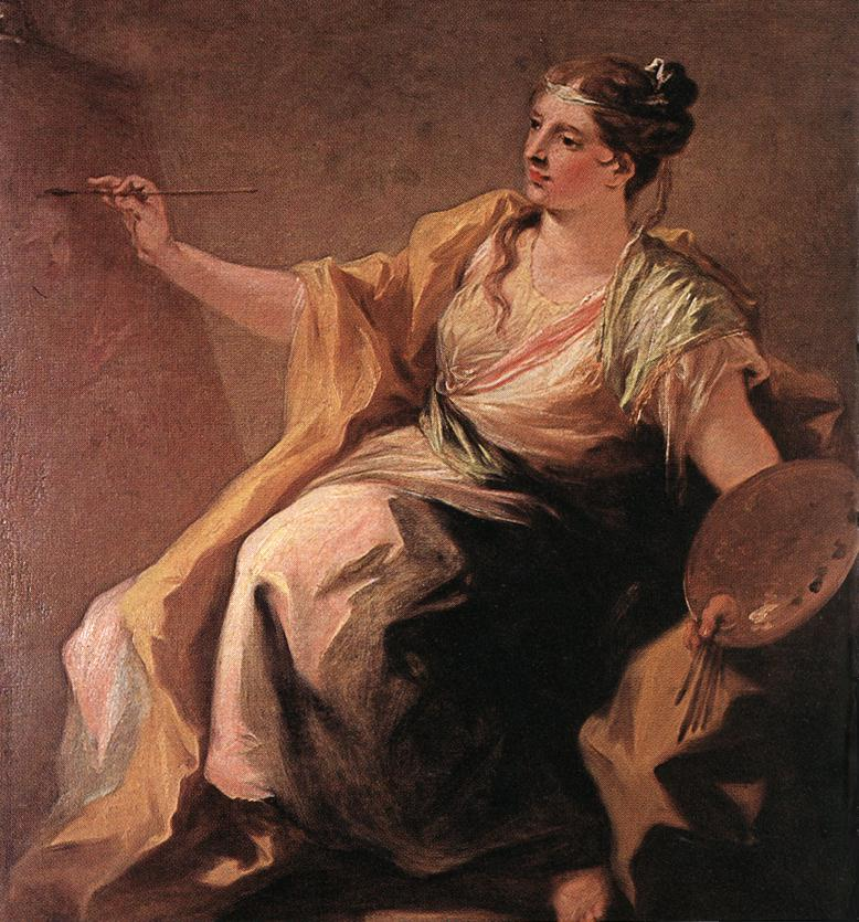 Allegory of Painting 1730 | Giovanni Antonio Pellegrini | Oil Painting