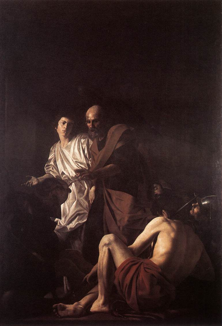 Liberation Of St Peter 1615 | Giovanni Battista Caracciolo | Oil Painting