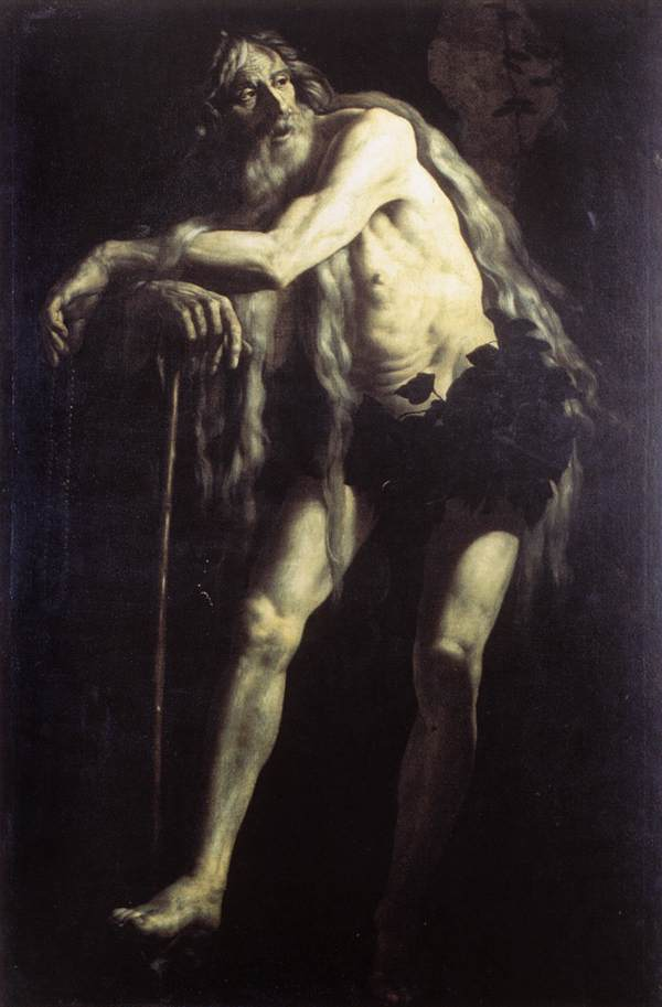 St Onophrius 1625 | Giovanni Battista Caracciolo | Oil Painting